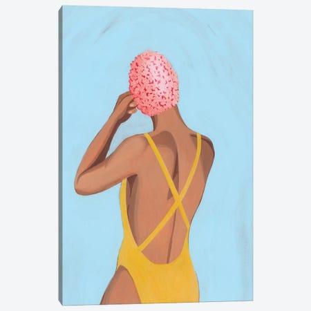 Swim Meet II 3-Piece Canvas #POP2126} by Grace Popp Canvas Art Print