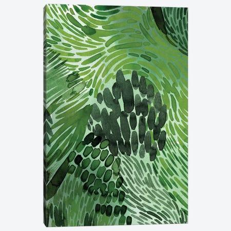 Upright Greenery II 3-Piece Canvas #POP2130} by Grace Popp Canvas Print