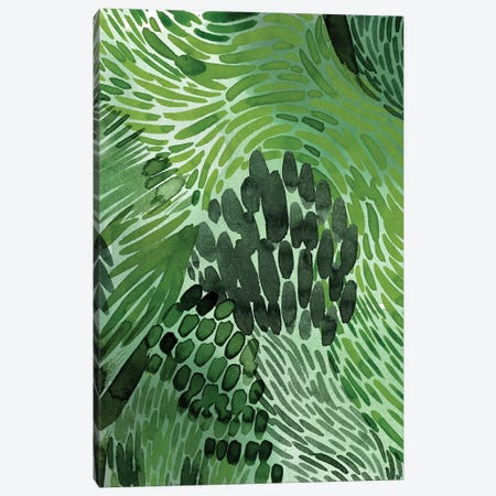 Upright Greenery II Canvas Print #POP2130} by Grace Popp Canvas Print