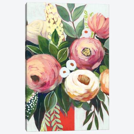 Lustrous Bouquet I Canvas Print #POP2158} by Grace Popp Art Print