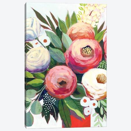 Lustrous Bouquet II Canvas Print #POP2159} by Grace Popp Canvas Art Print