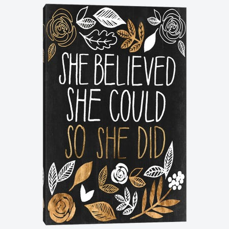 Girl Power III Canvas Print #POP215} by Grace Popp Canvas Art