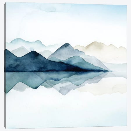 Glacial I Canvas Print #POP217} by Grace Popp Canvas Wall Art