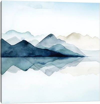 Glacial I Canvas Art Print