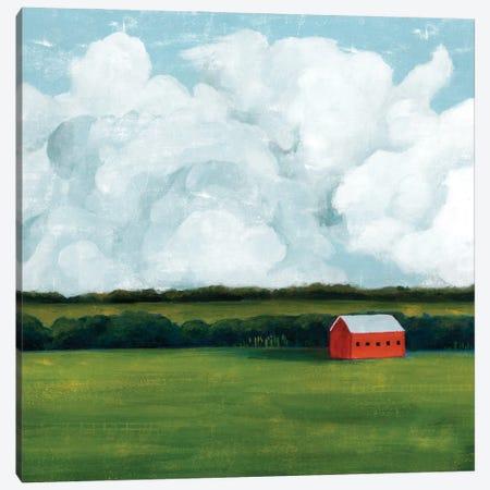 Lone Barn II Canvas Print #POP2181} by Grace Popp Canvas Art