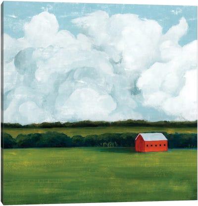 Lone Barn II Canvas Art Print