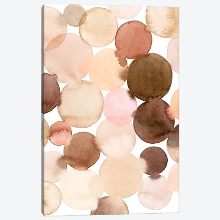 Speckled Clay I Canvas Print #POP2182} by Grace Popp Canvas Artwork