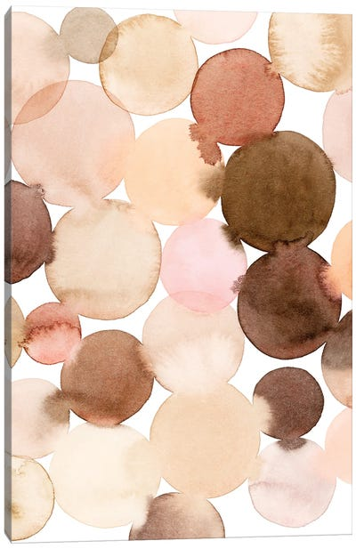 Speckled Clay I Canvas Art Print