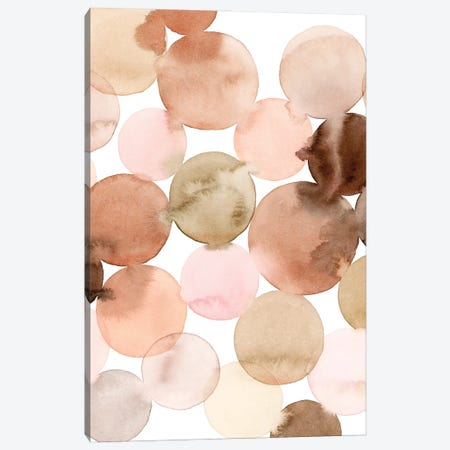 Speckled Clay II Canvas Print #POP2183} by Grace Popp Canvas Wall Art