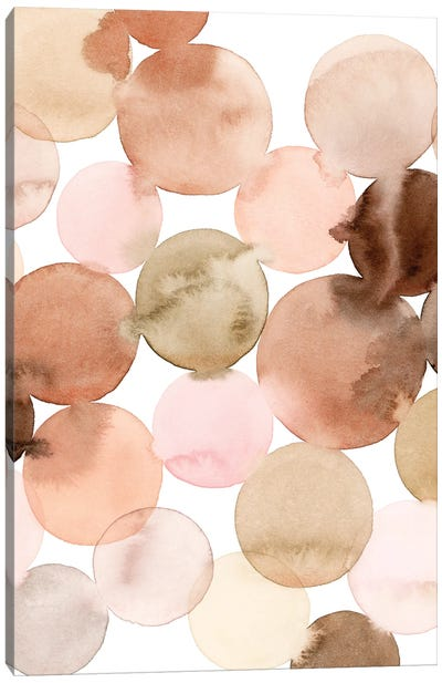 Speckled Clay II Canvas Art Print