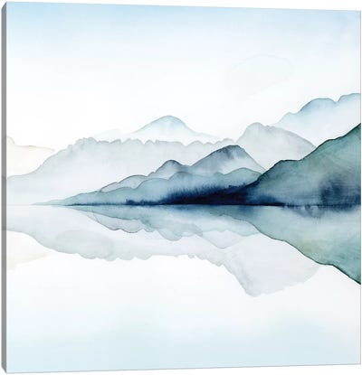 Glacial II Canvas Art Print