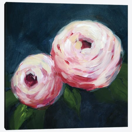 Ethereal Blooms I Canvas Print #POP2196} by Grace Popp Canvas Artwork
