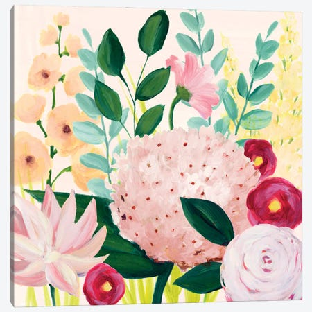 Mother's Day Blooms I Canvas Print #POP2202} by Grace Popp Canvas Print