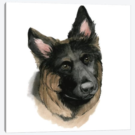 Human's Best Friend II Canvas Print #POP220} by Grace Popp Canvas Art