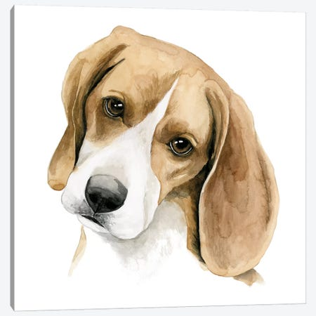 Human's Best Friend III Canvas Print #POP221} by Grace Popp Canvas Art