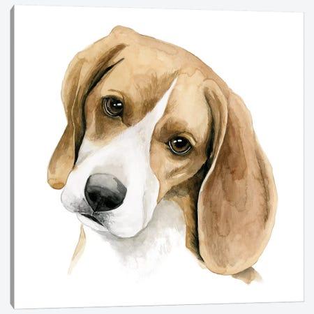 Human's Best Friend III Canvas Print #POP221} by Grace Popp Canvas Art