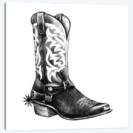 Vintage Cowboy II Canvas Print #POP2223} by Grace Popp Canvas Art Print