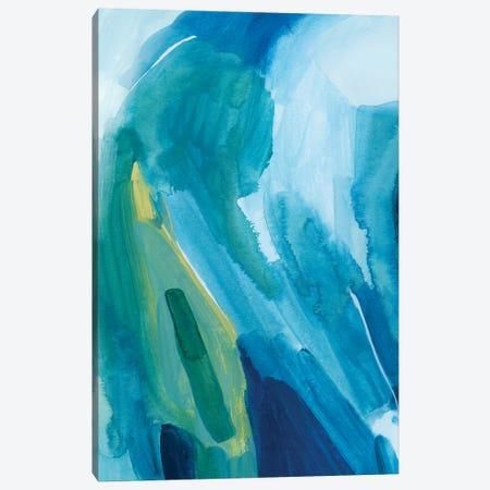 Aerial Island I Canvas Print #POP2224} by Grace Popp Canvas Artwork