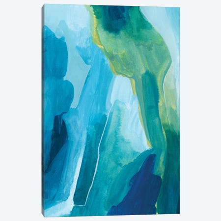 Aerial Island II Canvas Print #POP2225} by Grace Popp Canvas Art