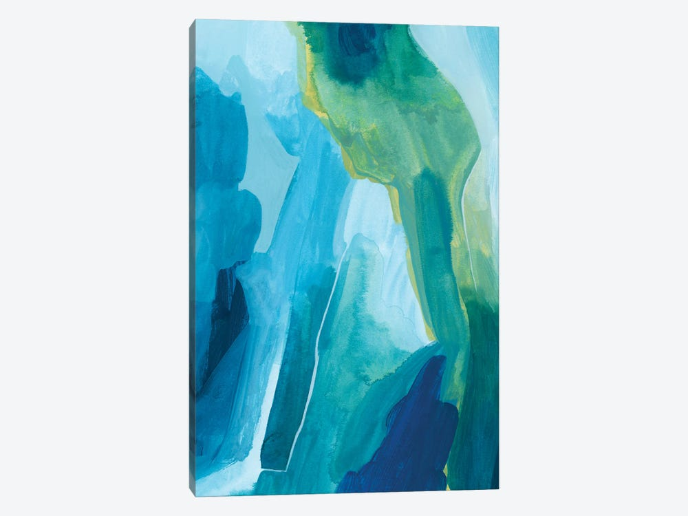 Aerial Island II by Grace Popp 1-piece Canvas Art Print