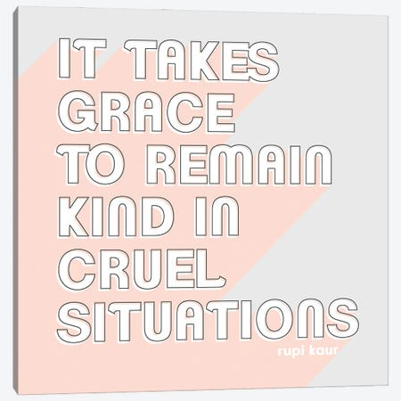 Be Kind I Canvas Print #POP2226} by Grace Popp Canvas Artwork