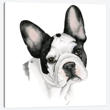 Human's Best Friend IV Canvas Print #POP222} by Grace Popp Canvas Wall Art