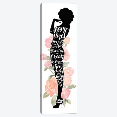 Iconic Woman I Canvas Print #POP223} by Grace Popp Canvas Art