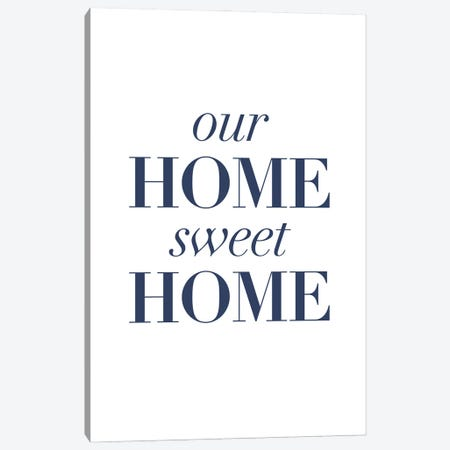 Home-y II Canvas Print #POP2240} by Grace Popp Canvas Print