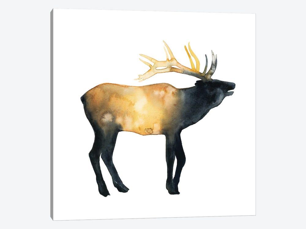 Elk Aglow II by Grace Popp 1-piece Canvas Art Print