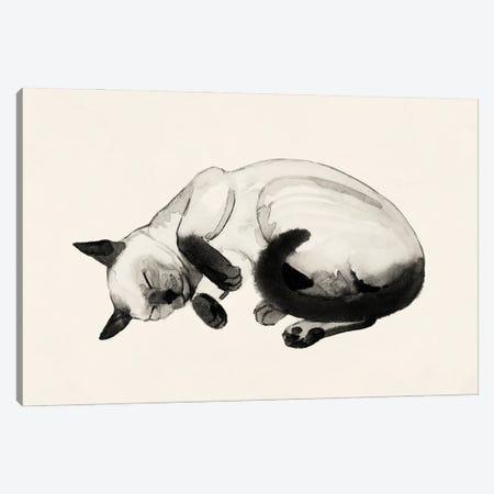 Cat Laze III Canvas Print #POP2277} by Grace Popp Art Print
