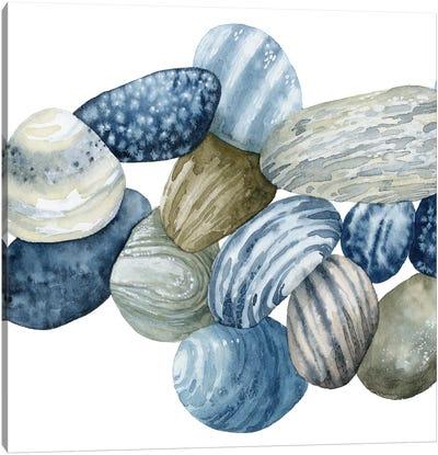Found Pebbles I Canvas Art Print