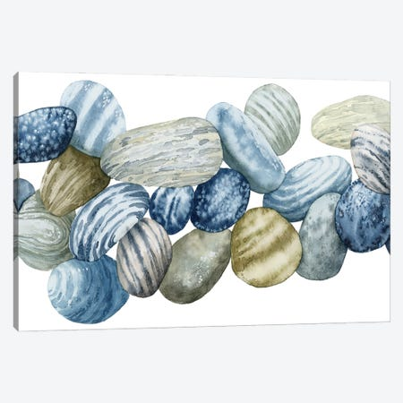 Found Pebbles III Canvas Print #POP2288} by Grace Popp Canvas Art Print