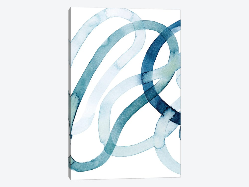 Lazuli II by Grace Popp 1-piece Canvas Artwork
