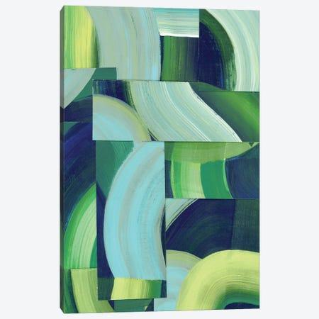 Oceanic Patchwork II Canvas Print #POP2305} by Grace Popp Canvas Art Print