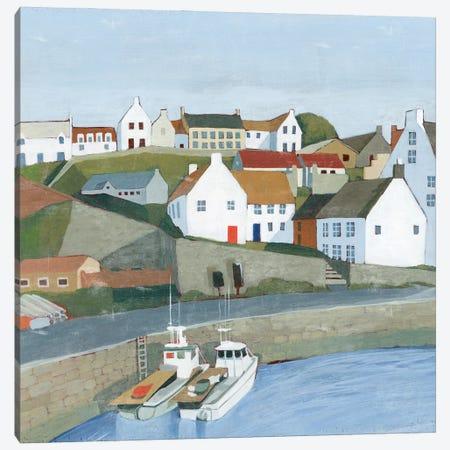 Old Coast Town I Canvas Print #POP2306} by Grace Popp Canvas Print