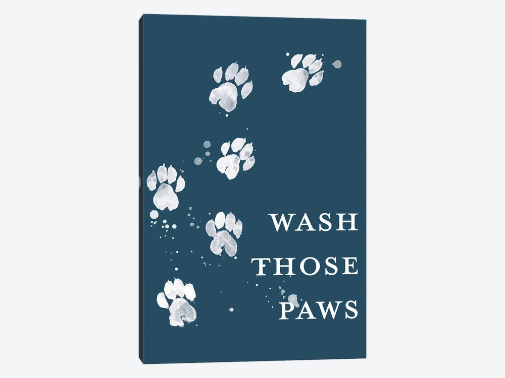 Wash Your Paws I by Grace Popp 1-piece Canvas Art