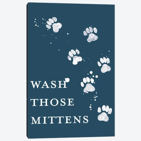 Wash Your Paws II Canvas Print #POP2317} by Grace Popp Canvas Artwork