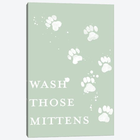 Wash Your Paws IV Canvas Print #POP2319} by Grace Popp Canvas Art Print
