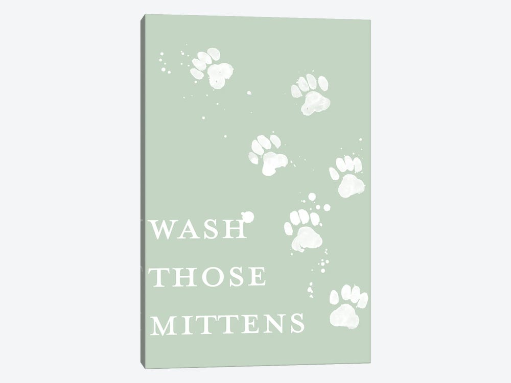 Wash Your Paws IV by Grace Popp 1-piece Canvas Art Print
