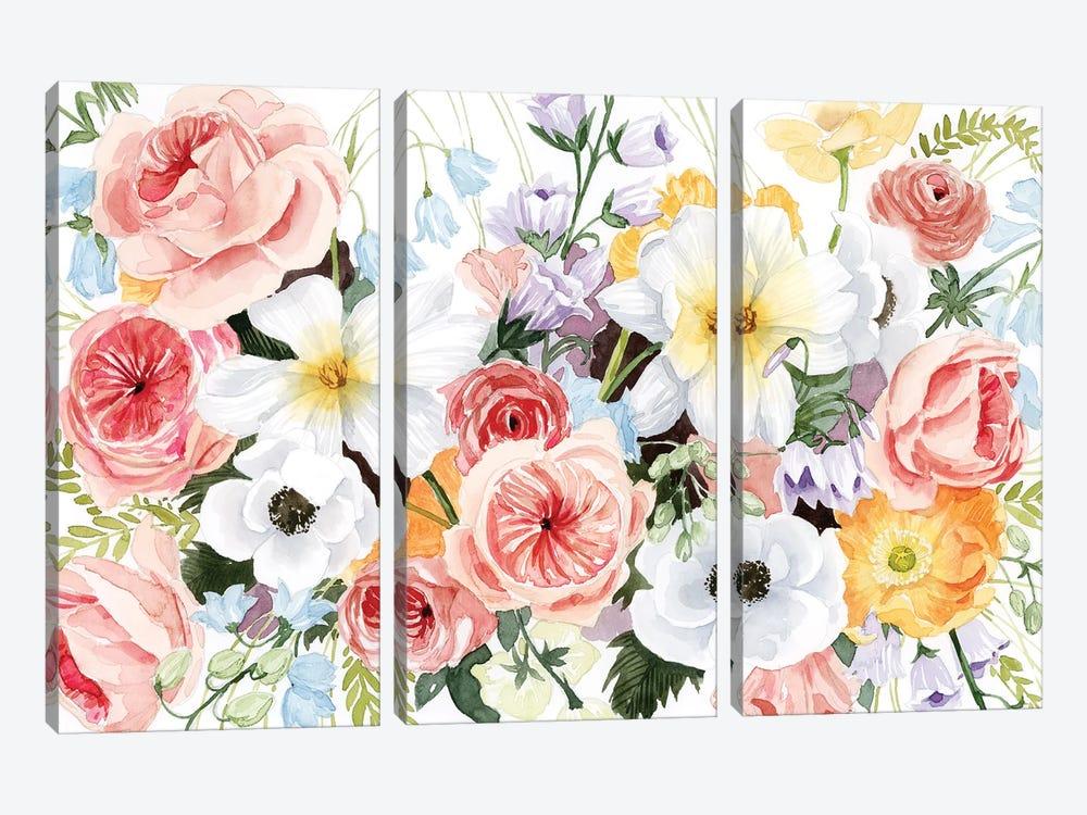 Wildflower Dreams III by Grace Popp 3-piece Art Print