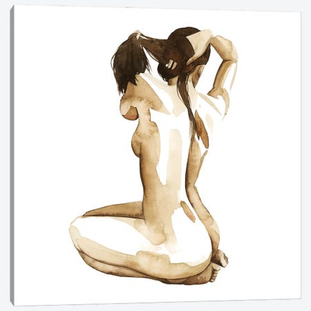 With Herself I Canvas Print #POP2323} by Grace Popp Canvas Art