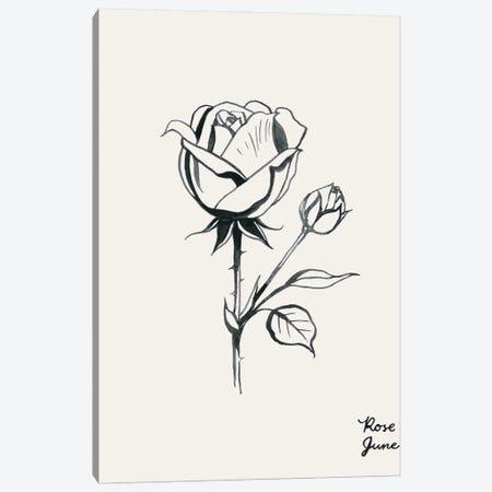 Annual Flowers VI Canvas Print #POP2333} by Grace Popp Canvas Print