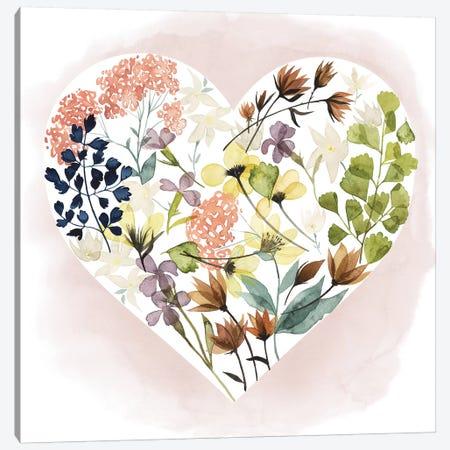 Love Floral I 3-Piece Canvas #POP235} by Grace Popp Canvas Artwork