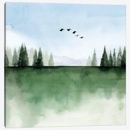Forest's Edge I Canvas Print #POP2360} by Grace Popp Canvas Wall Art