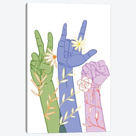 Love Each Other II Canvas Print #POP2374} by Grace Popp Canvas Art