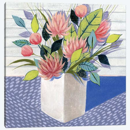 Midday Bouquet I Canvas Print #POP237} by Grace Popp Canvas Artwork
