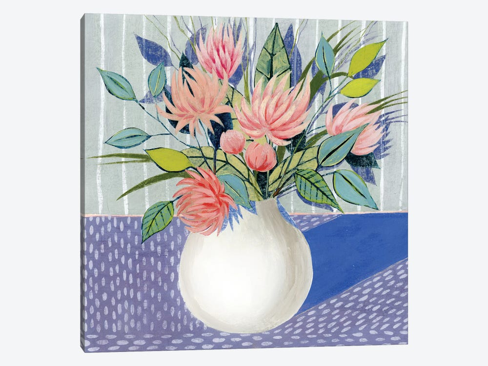 Midday Bouquet II 1-piece Canvas Wall Art