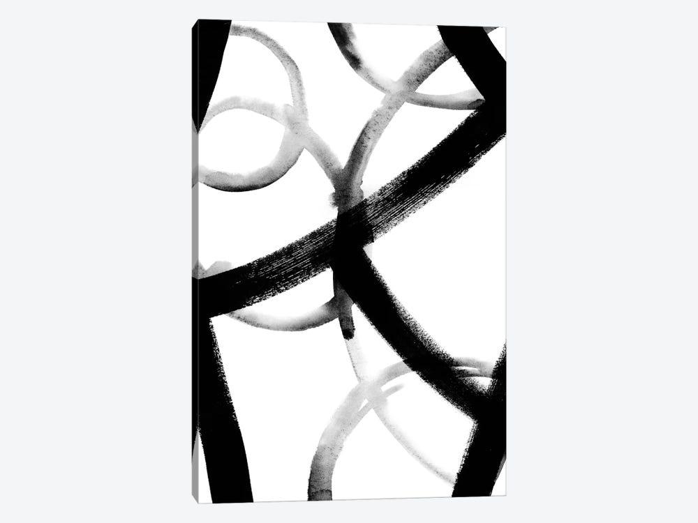 Monochrome Ripple I by Grace Popp 1-piece Art Print
