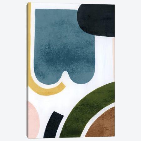 Shifting Shapes I Canvas Print #POP2403} by Grace Popp Canvas Art Print
