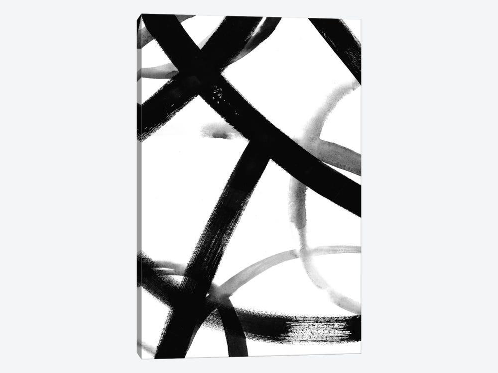 Monochrome Ripple II by Grace Popp 1-piece Canvas Print